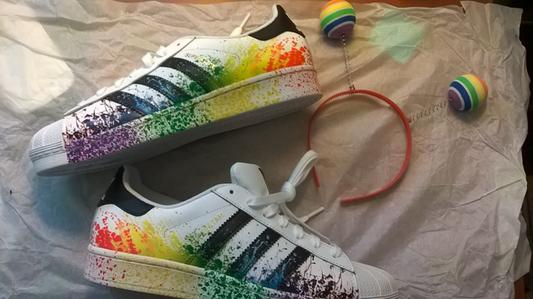 adida super star colore