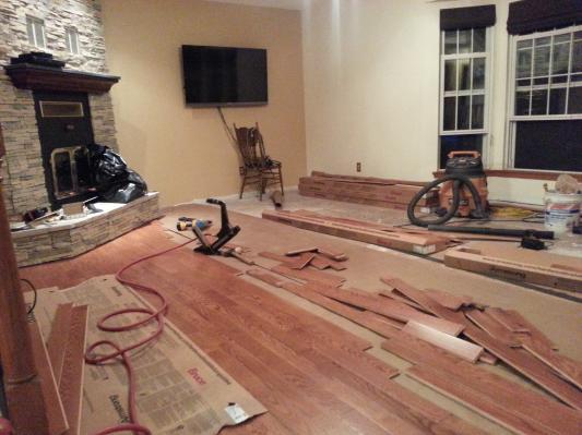 Family Room Install