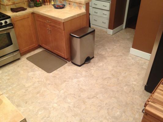 New Alterna Kitchen Floor   Nice!