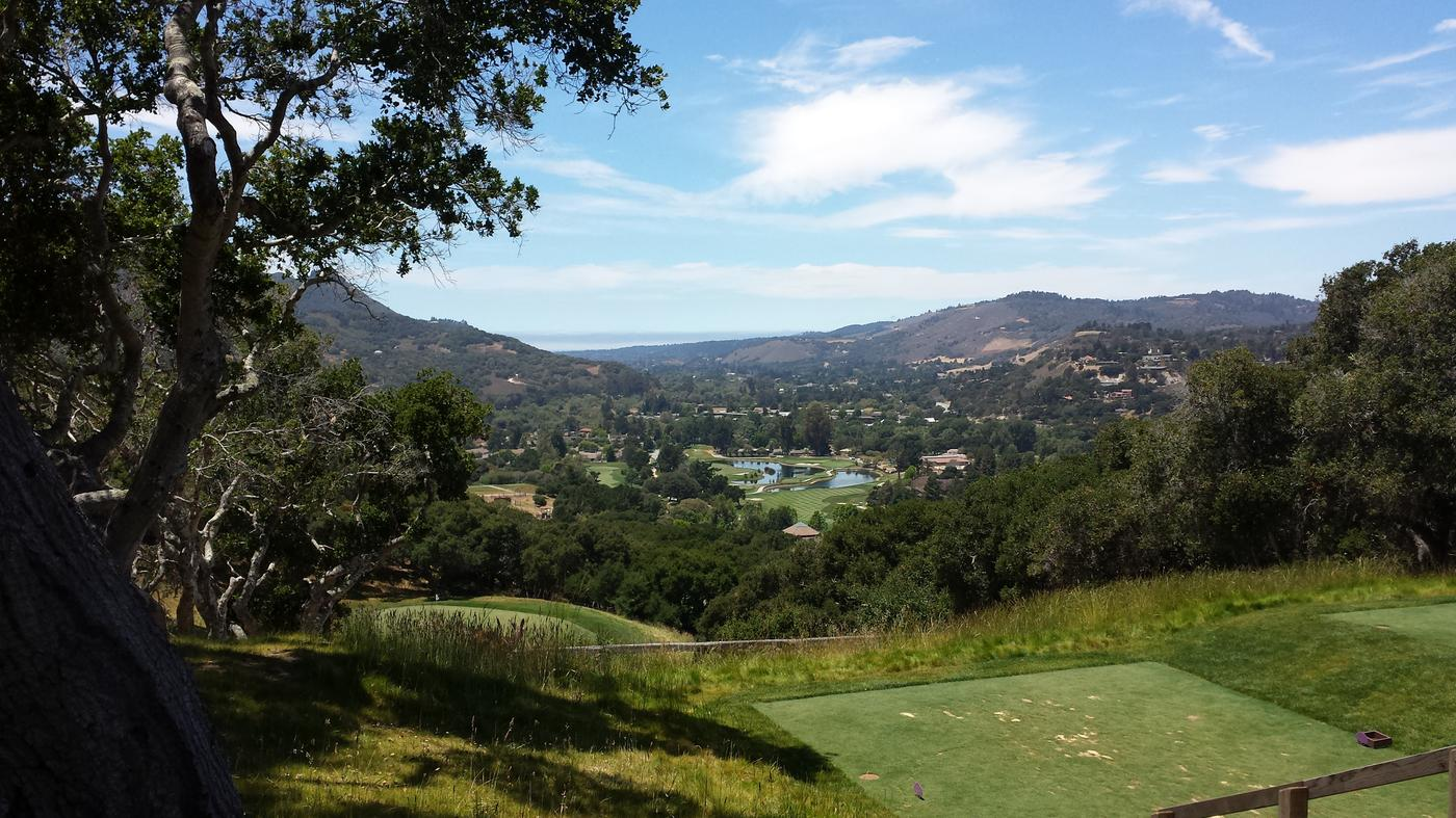 Carmel Valley Ranch Golf Course Layout Carmel Valley Ranch Golf