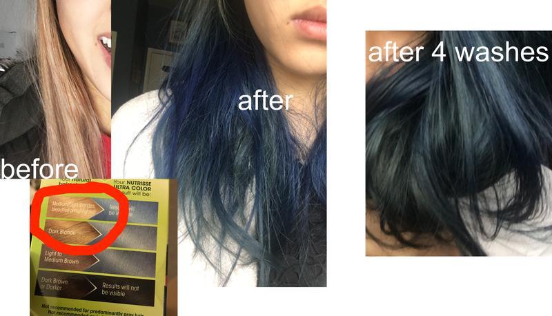 Page 4 Of Reviews Nutrisse Ultra Color Light Cool Denim Hair
