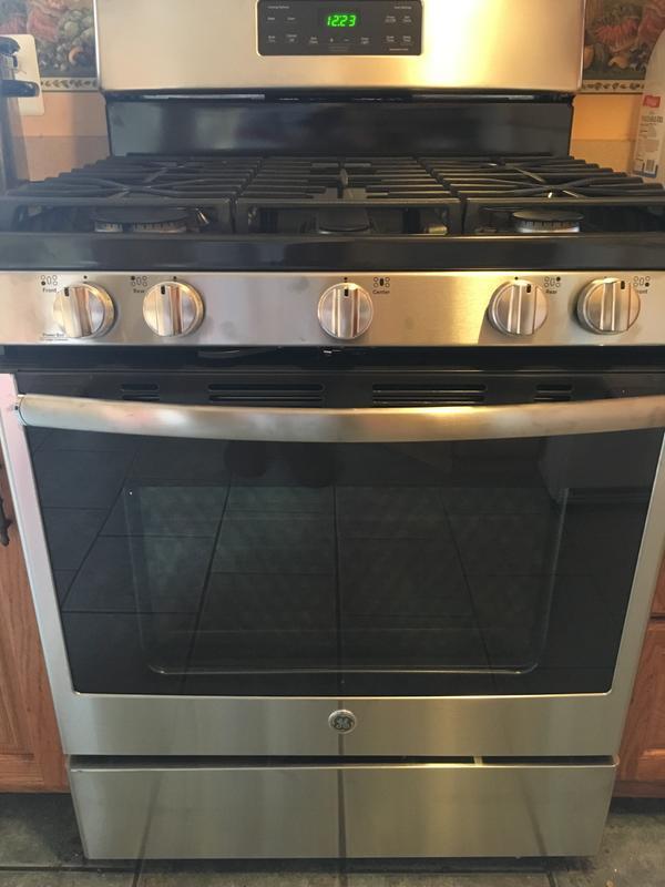 ge® 30 standing gas range jgb660sejss ge appliances