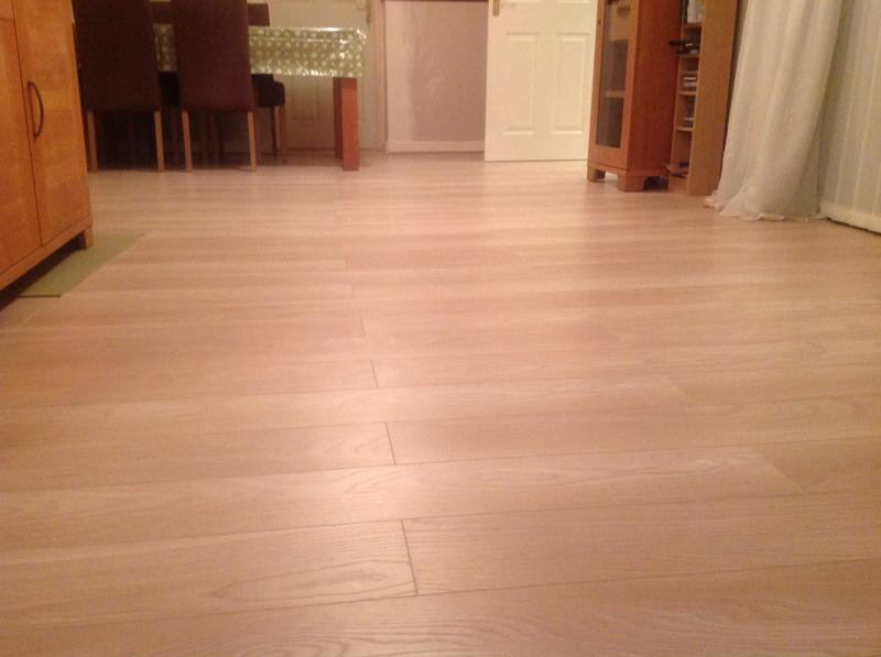 Colours Toccata Light Natural Cardiff Oak Effect Laminate Flooring