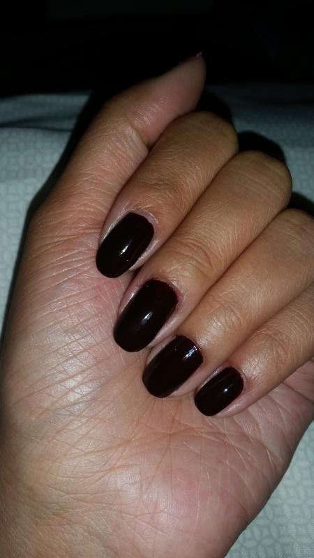 essie - Wicked - Deep & Dark Creamy Red Nail Polish & Nail Color ...