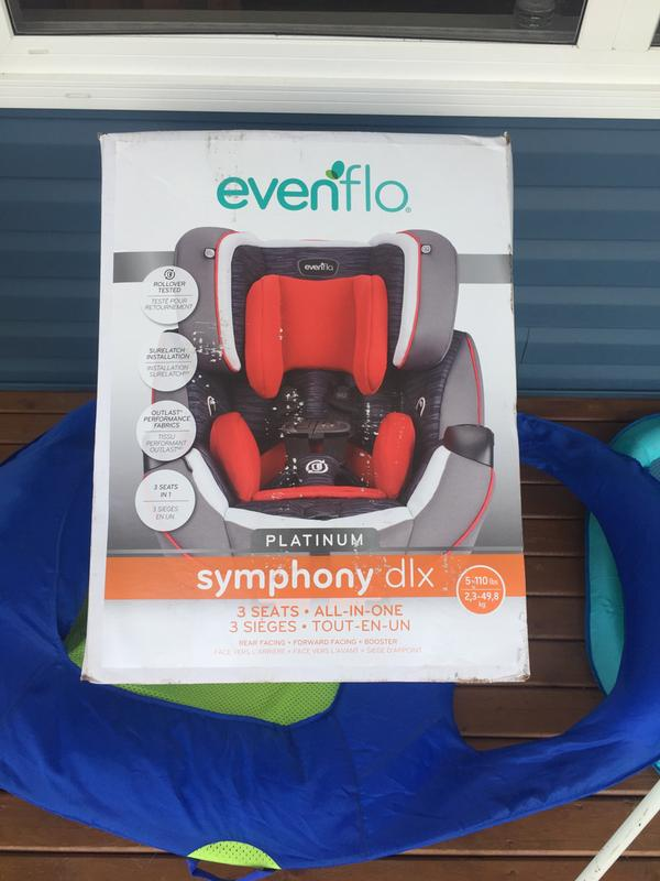 Symphony All In One Car Seat Evenflo