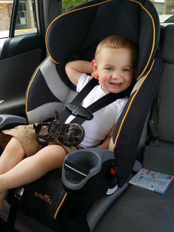 Maestro Harnessed Booster Car Seat   Evenflo