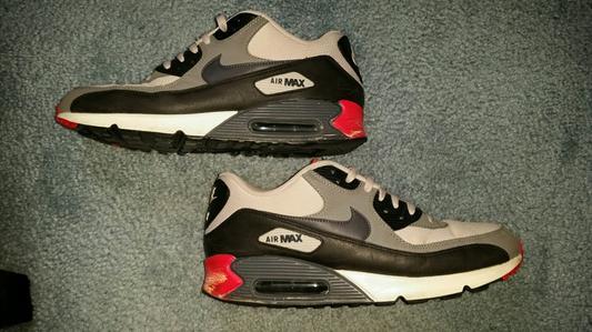 onsbe Nike Air Max 90 - Men\'s - Running - Shoes - Black/Black