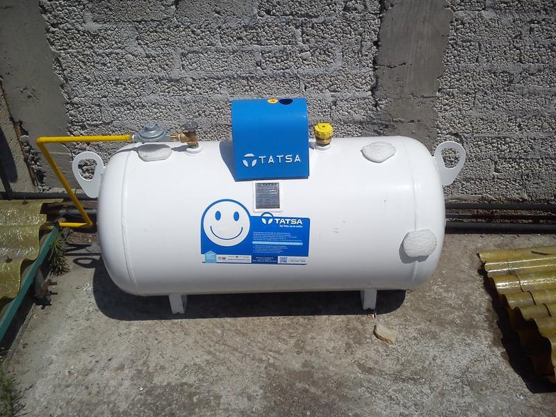 Tanques tatsa pictures to for Instalacion de gas lp