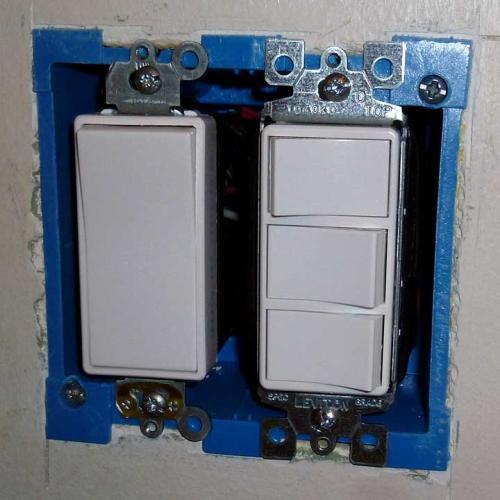 Home Depot Light Switch