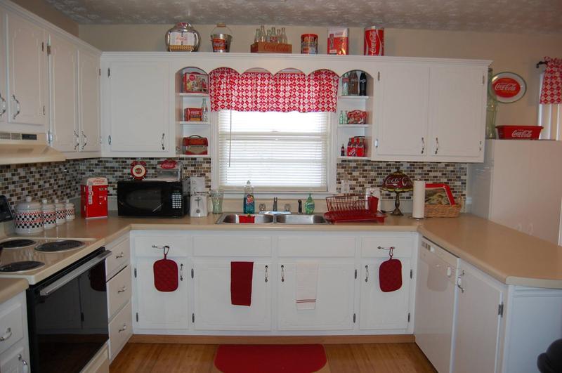 Kitchen Coca Cola Curtains
