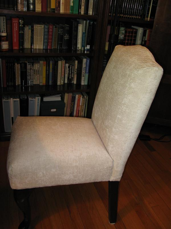 Fabrick On Chair