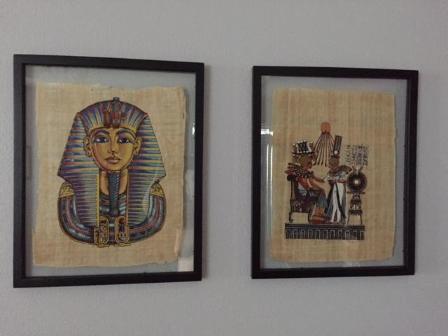 my papyrus prints from egypt