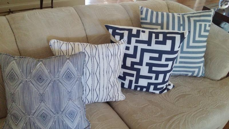 nate berkus throw pillow 1 - Home Decor Fabric