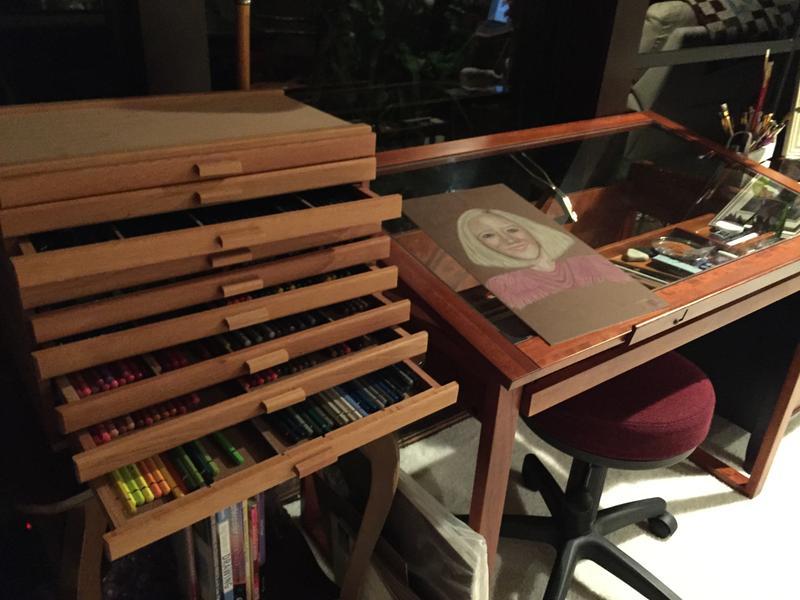 3 Drawer Wood Art Supply Storage Box Jerry S Artarama