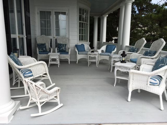 4 Low Back Orvis Chairs Blend Well With Antique Pieces