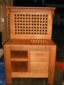Lowe 39 S Creative Ideas Potting Bench Perfection Customer Stories