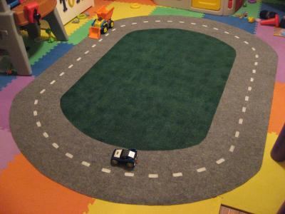 Good Carpet Playmats Keep Hot Wheels Cars Safely On The Road