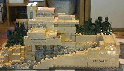 Fallingwater lego shop - Falling waters lego ...