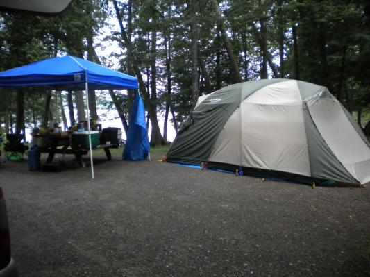 our King Pine Dome Tent @ Lily Bay State Park & L.L.Bean All Stories Customer Stories