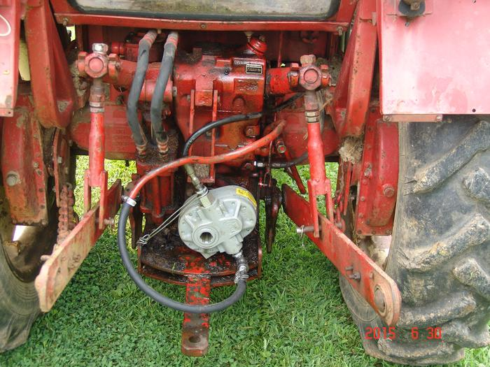 Tractor Pto Pump : Pto shaft mounted pump tractor projects page