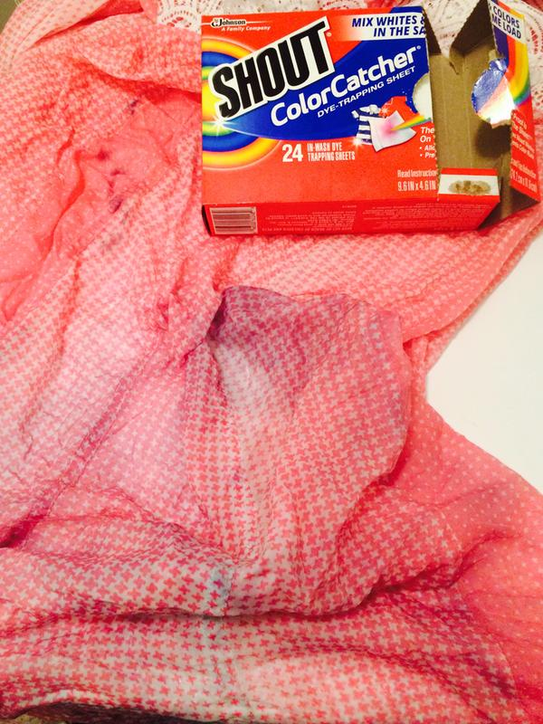 Shout® Color Catcher® - Protect from Color Bleeding   Shout®