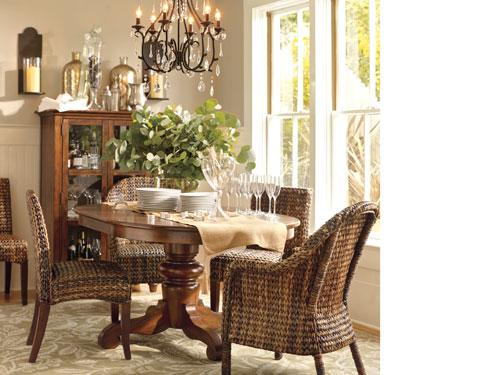 Dining room for the home pinterest for Pottery barn dining room ideas