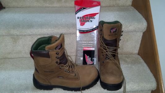 Men's 2280 Electrical Hazard Waterproof Non-Metallic Toe King Toe ...