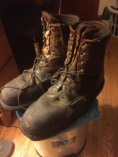 My Boots After  Months