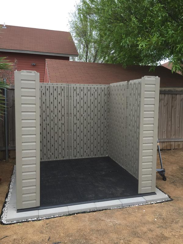 Roughneck® X-Large Storage Shed - 7ft x 7ft- DISCONTINUED