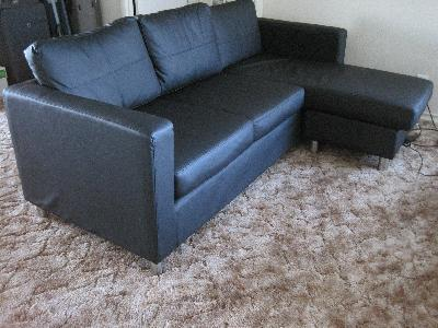 Small Spaces Microfiber Sectional Interior Design Ideas