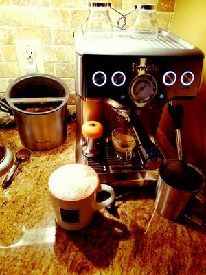 Delonghi magnifica super automatic espresso machine kit