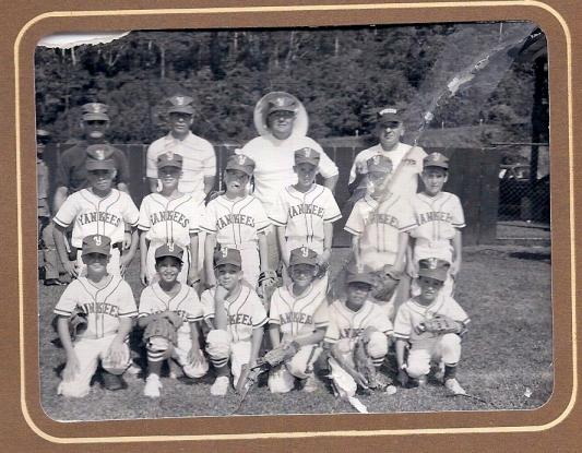Opening Day, Subic Bay, 1971 Yankees; Yes that's me!