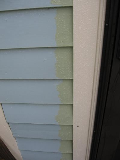 3 Year Old Paint Has Faded To Almost Blue
