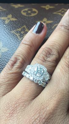 tw diamond engagement ring in 14k white gold ii1 view all rings zales - Wedding Rings At Zales