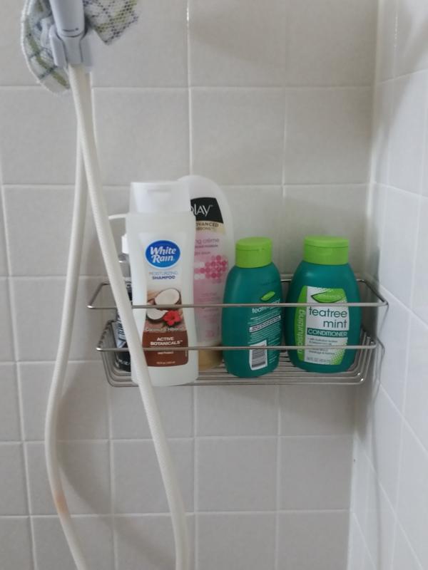 Command™ Bath Satin Nickel Caddy