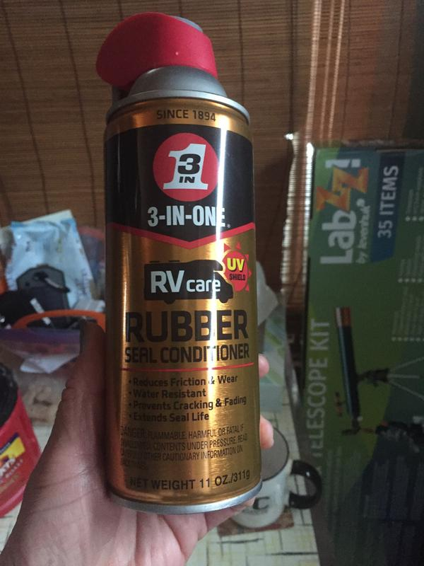 RV Rubber Seal Conditioner | 3-IN-ONE RVcare