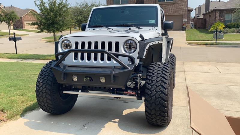 New Bumper looks great
