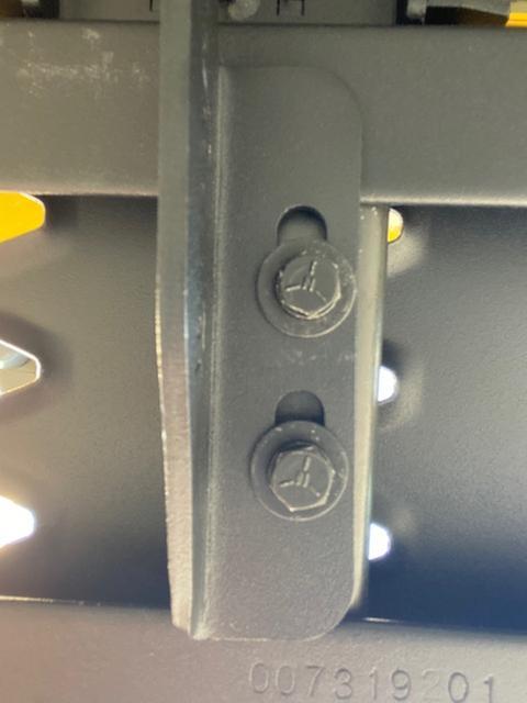 main support bracket from underside