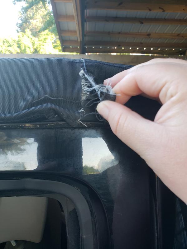 3 inch rip passenger side