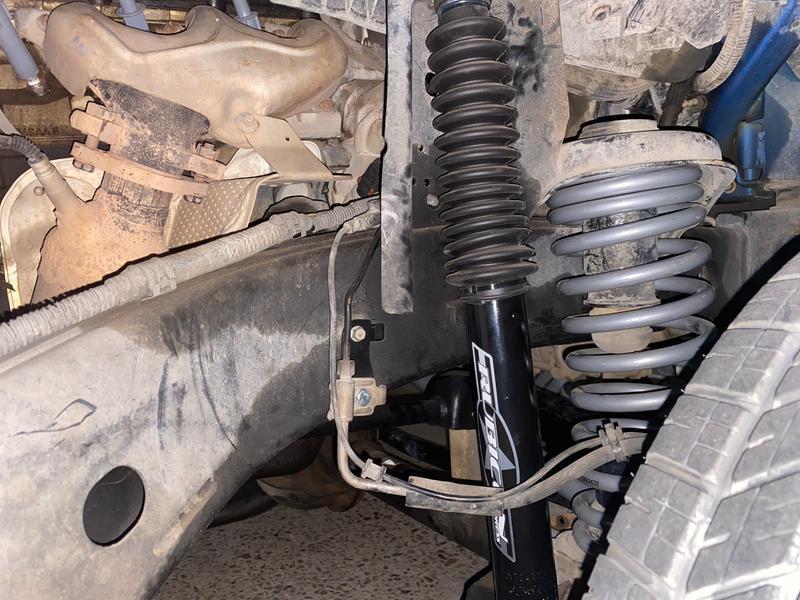 Brake relocation brackets