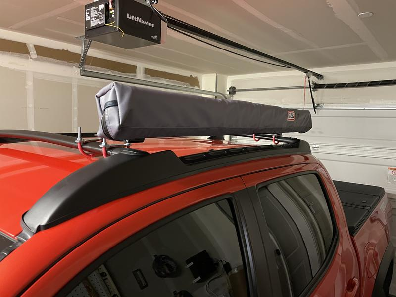 Easy to set up on a OEM roof rack