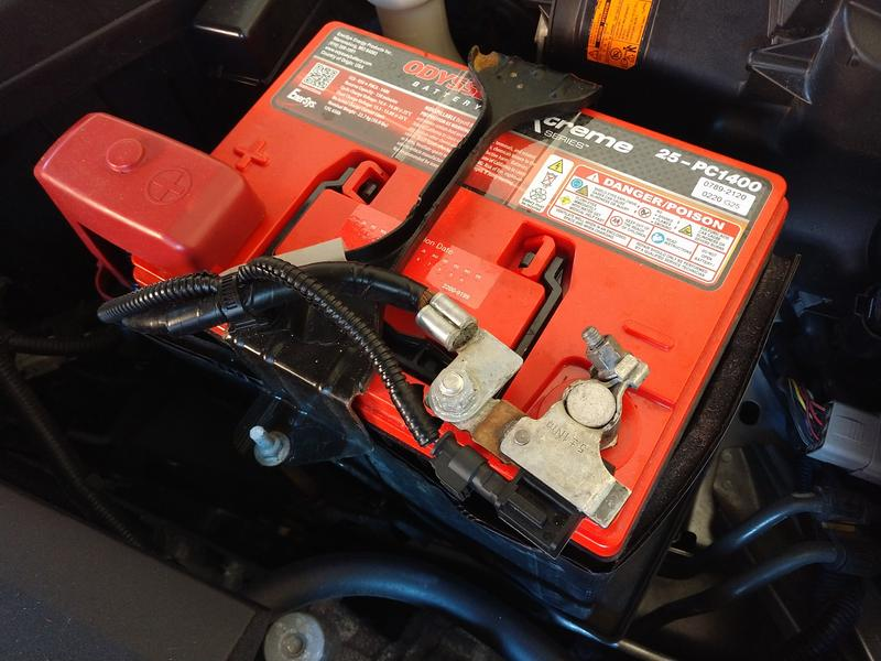 25 PC1400 in '06 Subaru