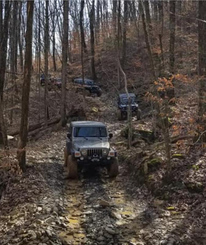 Jeep trip Windrock