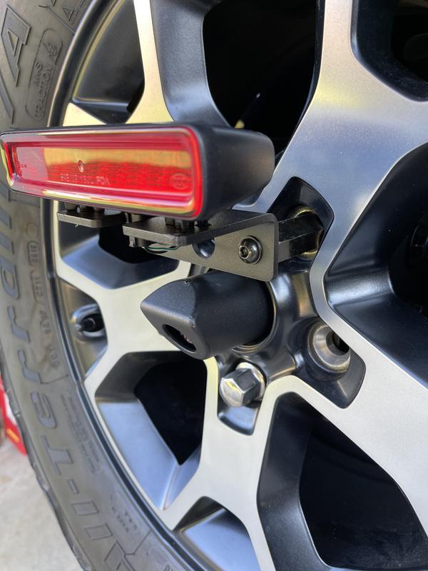 Camera/rear brake light