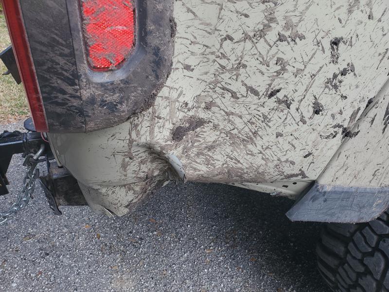 Damage caused by poor engineering