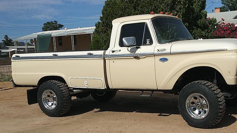 66 Ford. (Beast)