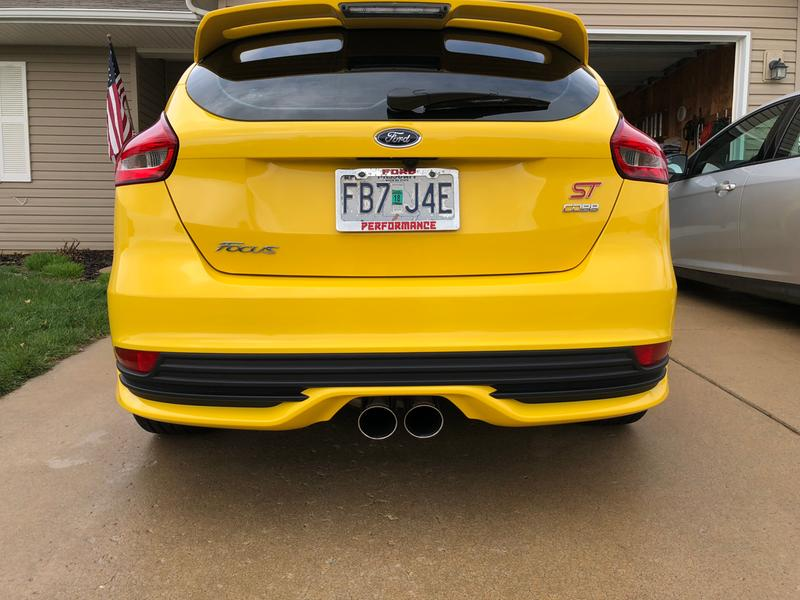 COBB Tuning - Ford Focus ST Turboback Exhaust