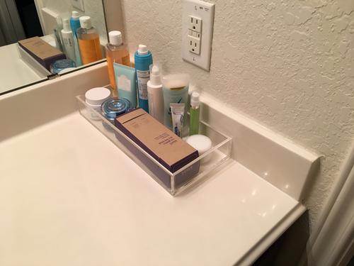 bathroom vanity tray decor.htm acrylic trays clear acrylic trays the container store  acrylic trays clear acrylic trays