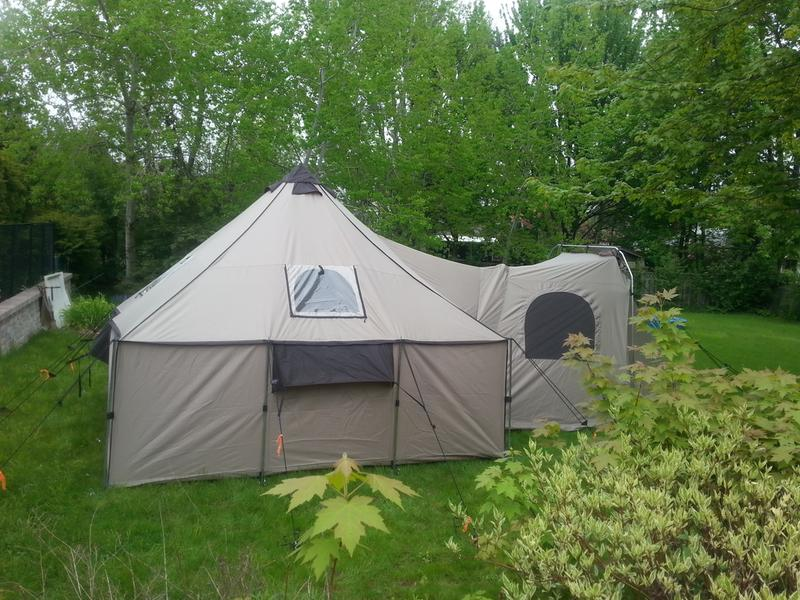 Backyard Spring c&ing & Cabelau0027s Ultimate Alaknak Tent | Cabelau0027s Canada