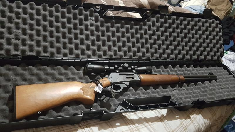 Marlin 336W Lever Action Rifle
